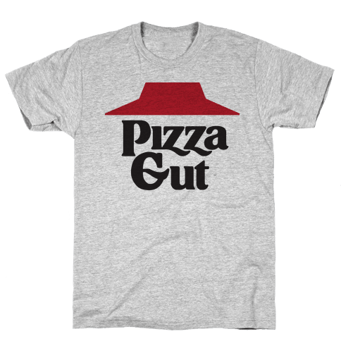 Pizza Gut Mens T-Shirt