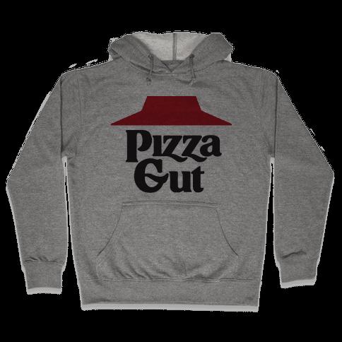 Pizza Gut Hooded Sweatshirt