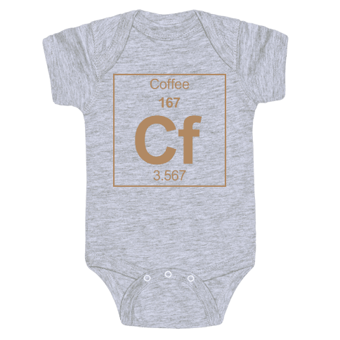 Coffee Baby Onesy