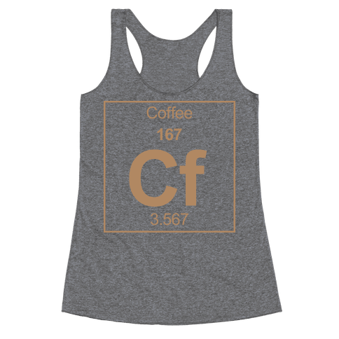Coffee Racerback Tank Top
