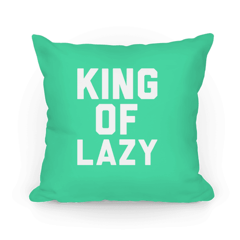 KING OF LAZY PILLOW Pillow