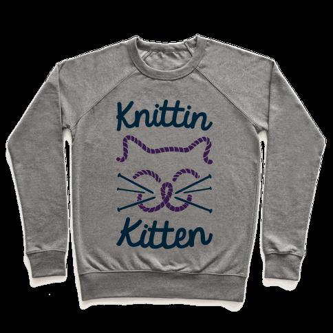 Knittin Kitten Pullover