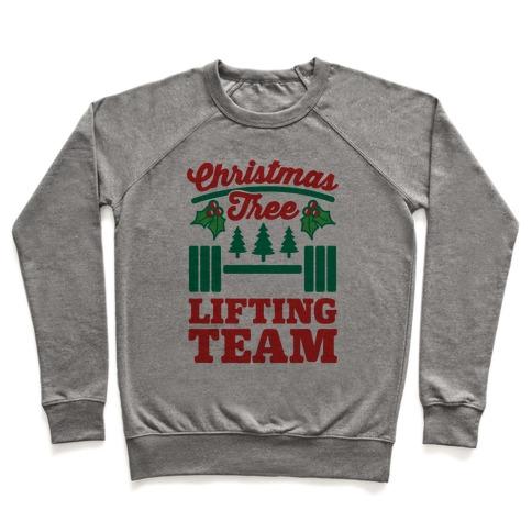 Christmas Tree Lifting Team Pullover