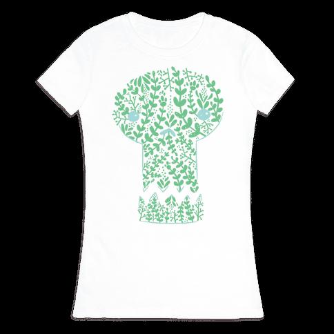 Decorative Skull Womens T-Shirt