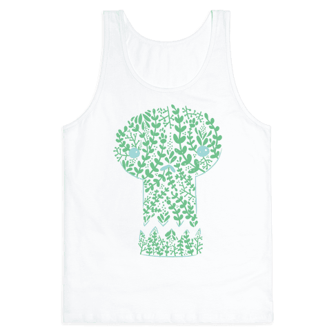 Decorative Skull Tank Top