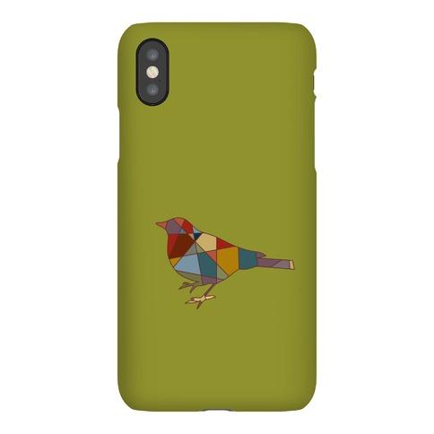 Mosaic Pattern Bird Phone Case