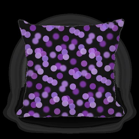 Purple Glitter Bokeh Pattern