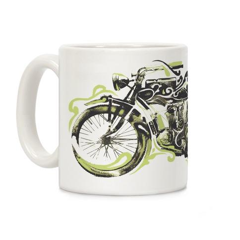 Vintage Motorbike Coffee Mug