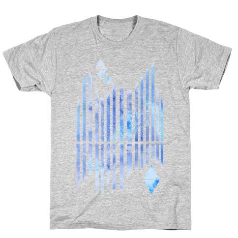 Abstract Winter Crystals T-Shirt