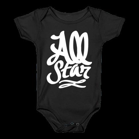 All Star Baby Onesy