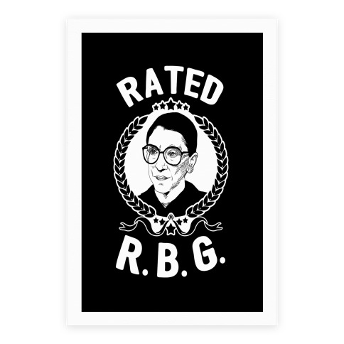 Rated R.B.G. Poster