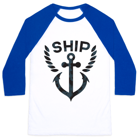 Ship Mates (Ship Half) Baseball Tee