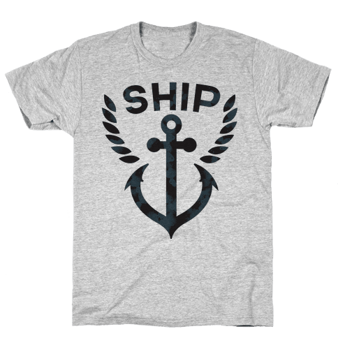 Ship Mates (Ship Half) Mens T-Shirt