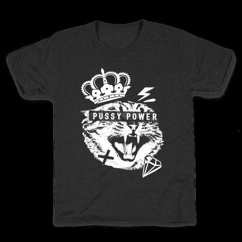 Pussy Power Kids T-Shirt