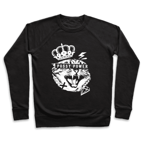 Pussy Power Pullover