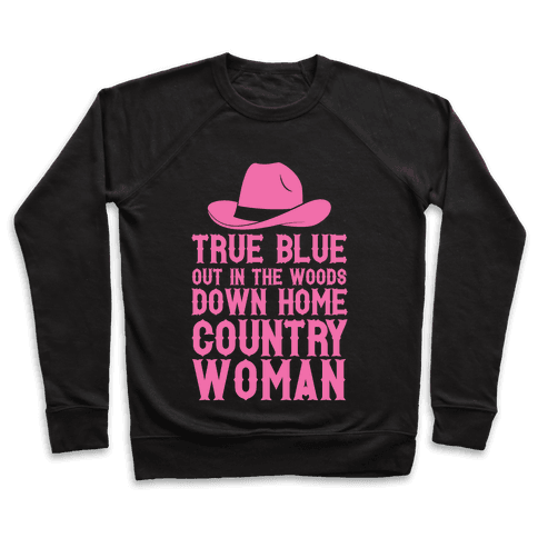 True Blue Country Woman Pullover