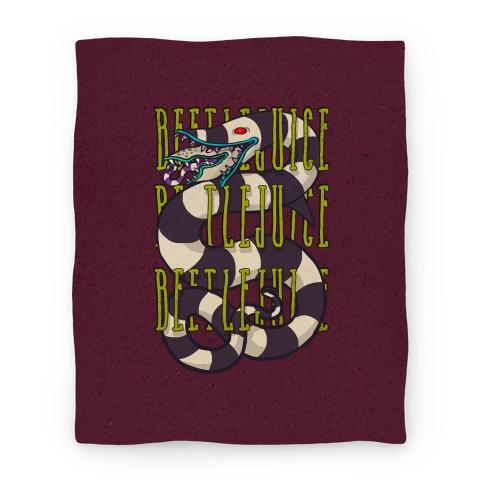 Beetlejuice Sandworm Blanket Blanket