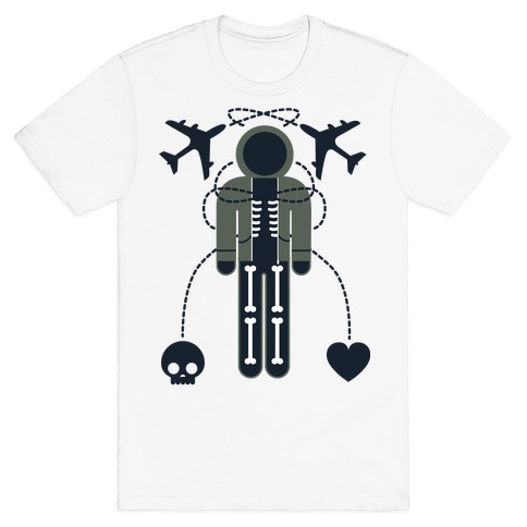 Fear and Love Mens T-Shirt