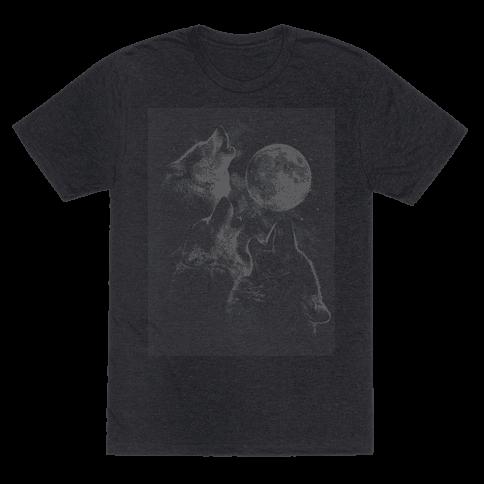 Three Wolf Ascii