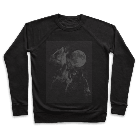 Three Wolf Ascii Pullover