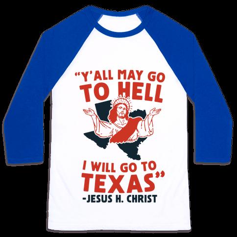 Texas Jesus Baseball