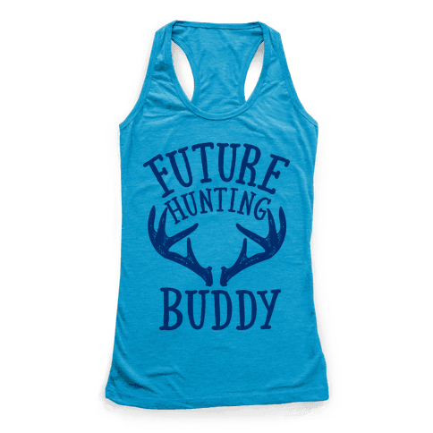 Future Hunting Buddy Racerback Tank Top