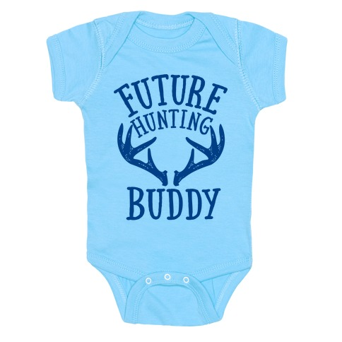 Future Hunting Buddy Baby Onesy