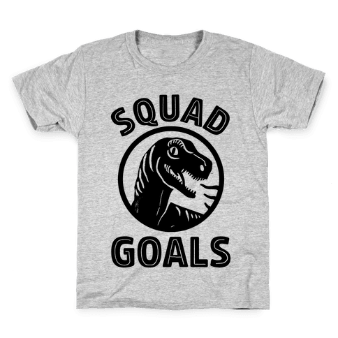 Raptor Squad Goals Kids T-Shirt