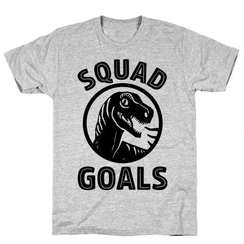 Raptor Squad Goals Mens T-Shirt