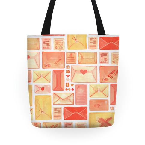 Love Letter Pattern Tote