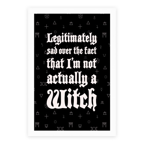 I'm Not A Witch Poster