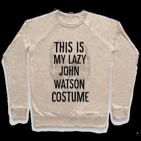 Lazy John Watson Costume Pullover