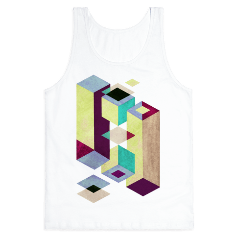 Geometry Optical Illusion Tank Top
