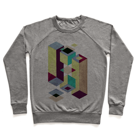 Geometry Optical Illusion Pullover