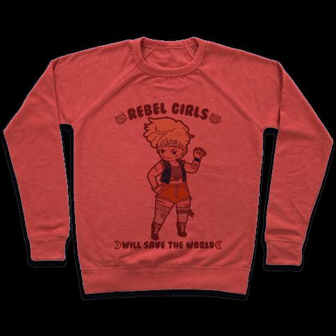 Rebel Girls Will Save The World Uranus Pullover