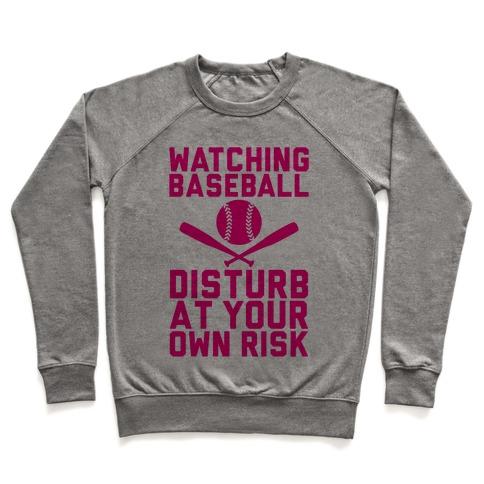 Watching Baseball Pullover