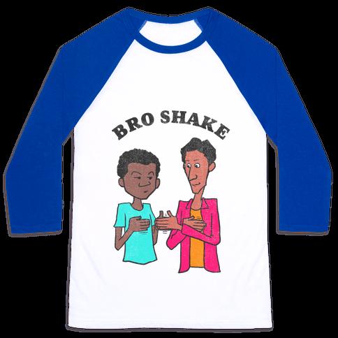 Bro Shake (vintage) Baseball Tee