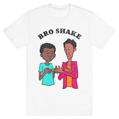 Bro Shake (vintage) Mens T-Shirt