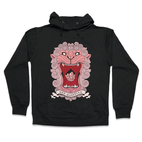 Gem Guardian Lion Hooded Sweatshirt