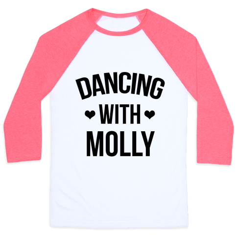 Dancing with Molly Baseball Tee