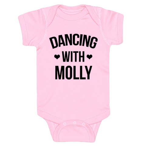 Dancing with Molly Baby Onesy