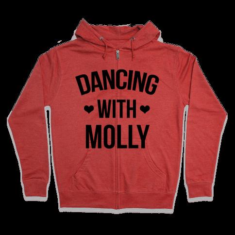 Dancing with Molly Zip Hoodie