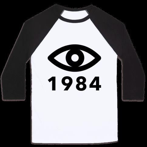 1984: Always Watching Baseball Tee
