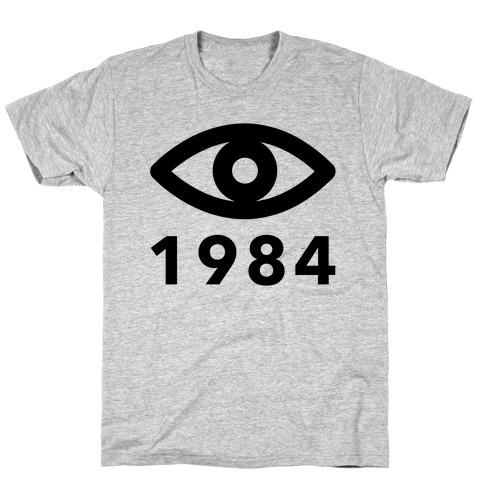 1984: Always Watching Mens T-Shirt