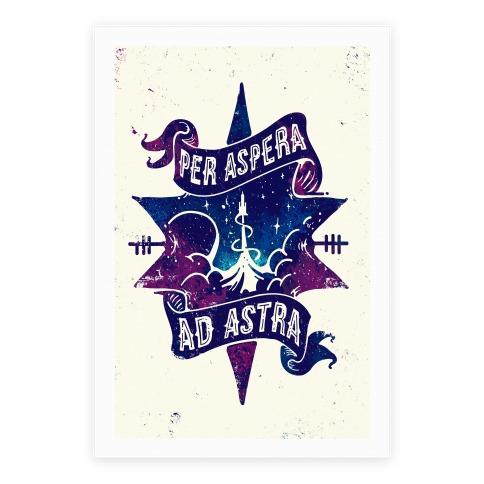 Per Aspera Ad Astra Poster