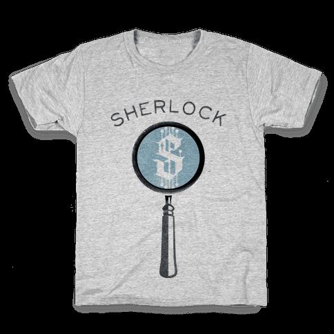 Sherlock & Watson (Part 1) Kids T-Shirt