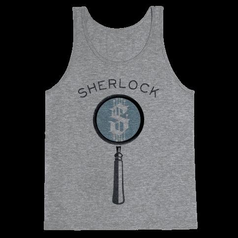 Sherlock & Watson (Part 1) Tank Top