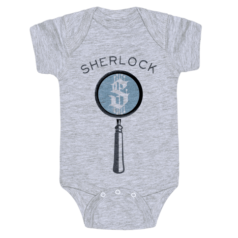 Sherlock & Watson (Part 1) Baby Onesy