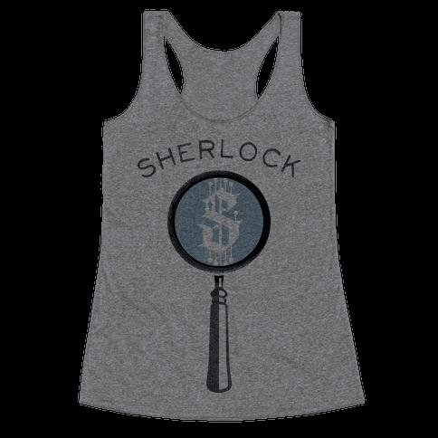 Sherlock & Watson (Part 1) Racerback Tank Top