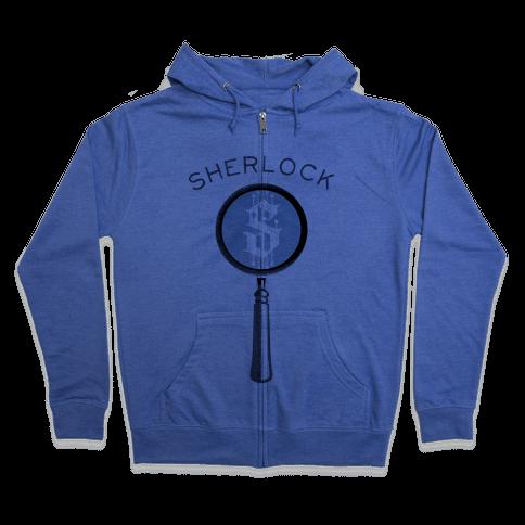 Sherlock & Watson (Part 1) Zip Hoodie